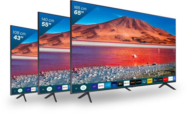 Trois tailles d'écran et des prix imbattables pour ce modèle Led 4k HDR !